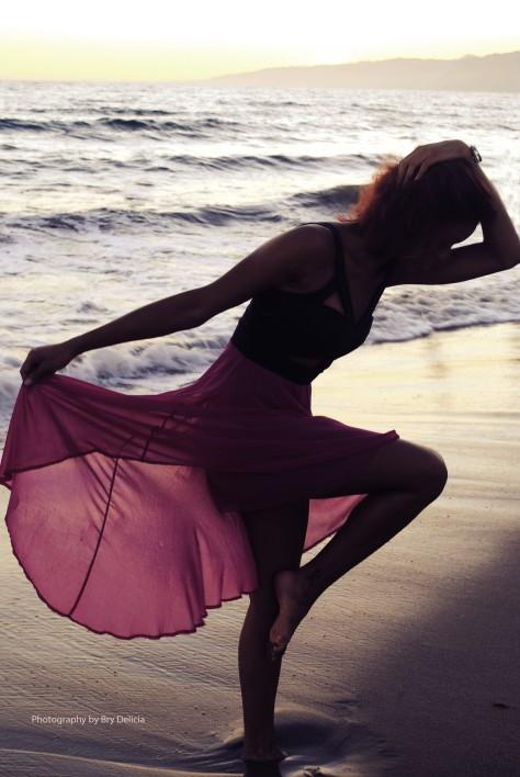 beach and girl_Bry
